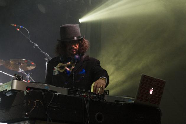 Local DJ at NitroFest 2017. Photo by: Matthew McGuire