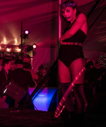 Hula hoop dancer at NitroFest 2017 in Longmont, Colorado. Photo by: Matthew McGuire