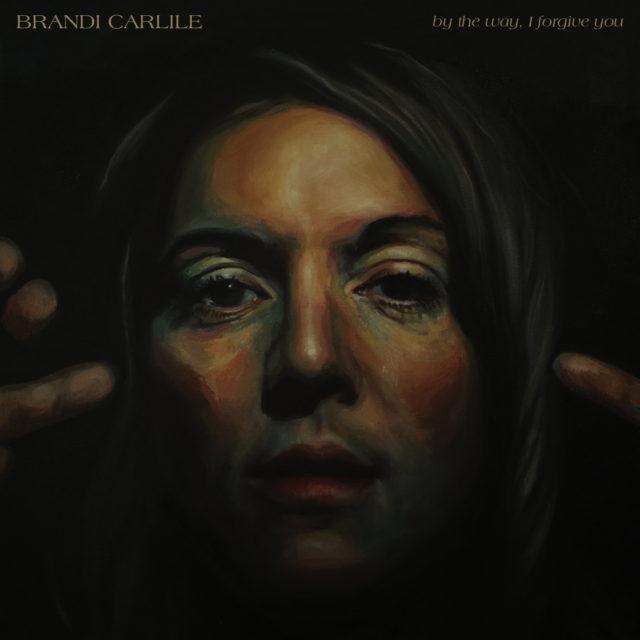 Brandi Carlile album cover art painting by Scott Avett. Photo provided.
