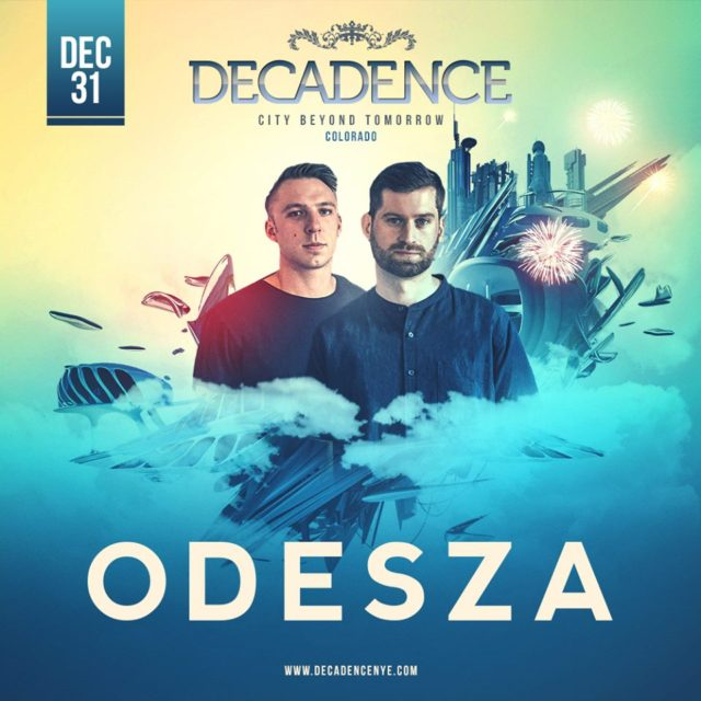 ODESZA at Decadence NYE 2017. Photo by: Decadence