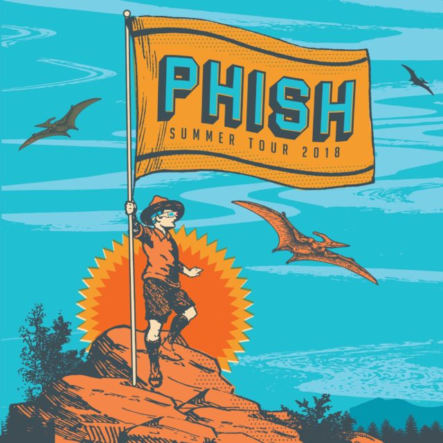 Phish tour dates promotional image. Photo by: Phish