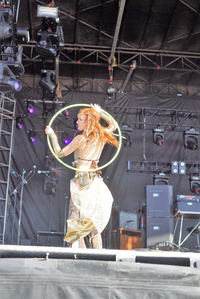 Govinda Performance Artist. Photo by: RJ Harvey