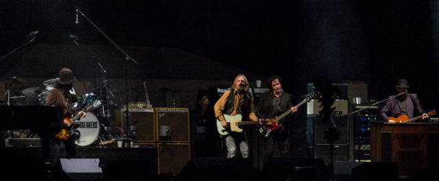 Tom Petty and the Heartbreakers performing at Lockn 2014. Photo by: Matthew McGuire