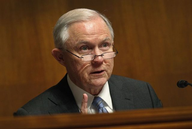 Jeff Sessions, Attorney General of the United States. Photo by: U.S. Customs and Border Protection / Wikimedia Commons