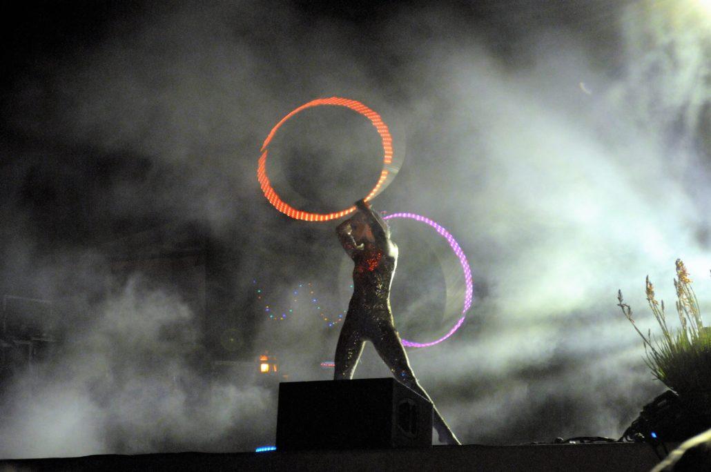 Thriftworks Performance Artist. Photo by: RJ Harvey