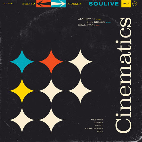Soulive album cover for Cinematics, Vol. 1. Photo provided.