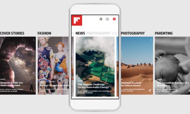 Flipboard Magazine app overview. Photo by: Flipboard