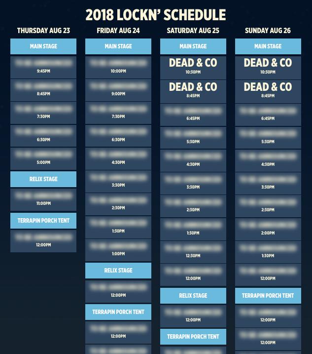 LOCKN Music Festival lineup announcement week. Photo by: LOCKN Music Festival