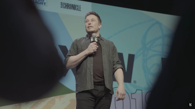 Elon Musk at SXSW 2018. Photo by: SXSW / YouTube