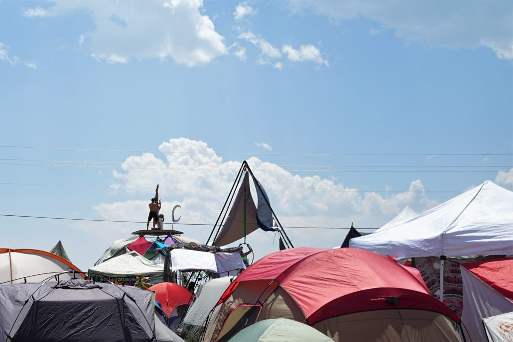 Tent city. Photo by: Samantha Harvey