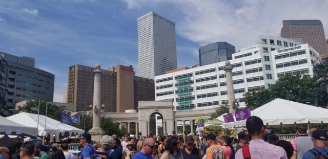 A Taste of Colorado 2018 in downtown Denver on Sunday, September 2. Photo by: Matthew McGuire