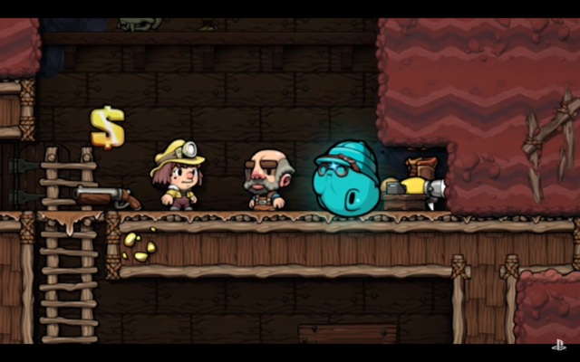 Spelunky 2 screenshot. Photo by: Playstation / YouTube