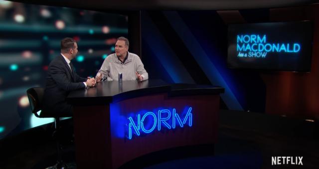 Norm Macdonald Has a Show still shot. Photo by: Netflix / YouTube