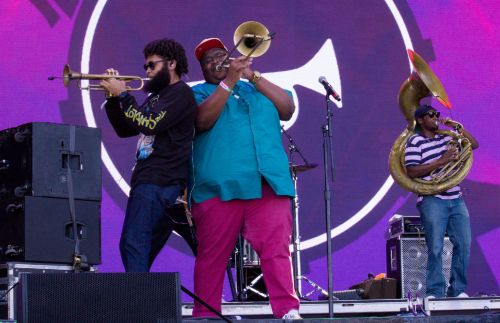 The Soul Rebels at Grandoozy 2018. Photo by: Matthew McGuire