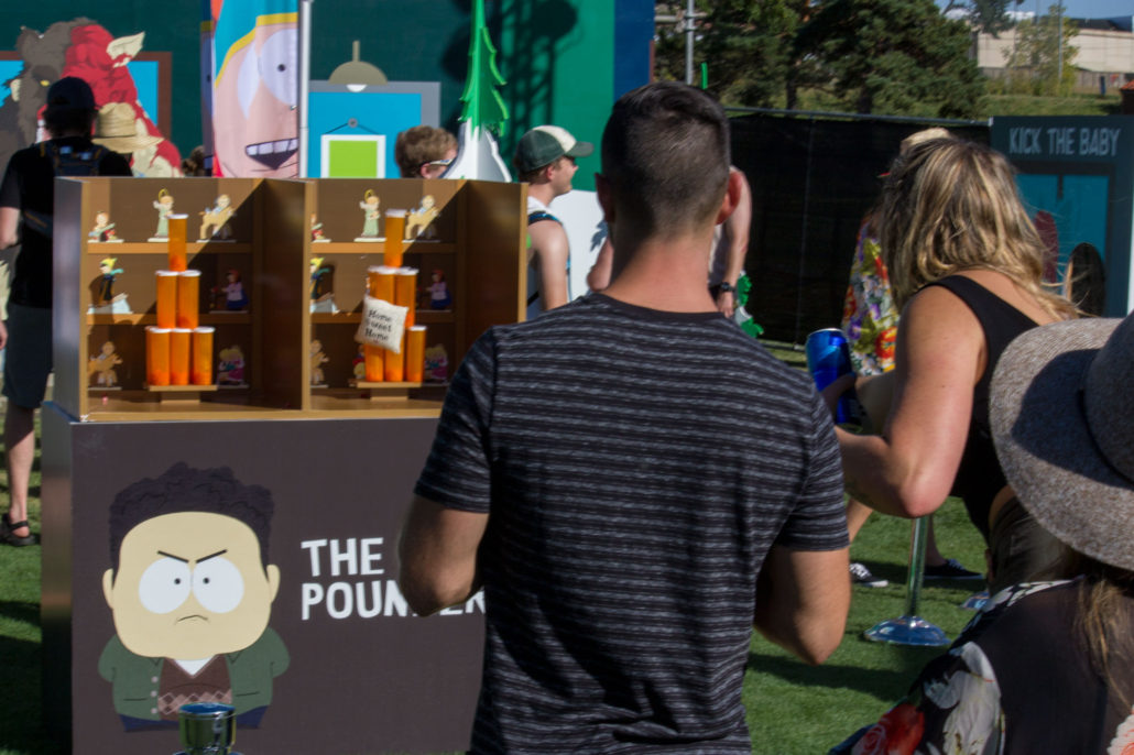 South Park theme area at Grandoozy 2018. Photo by: Matthew McGuire