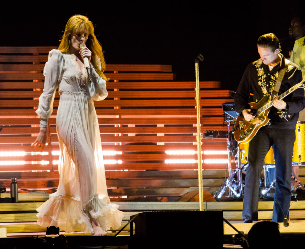 Florence and the Machine at Grandoozy 2018 on Saturday, September 15. Photo by: Matthew McGuire