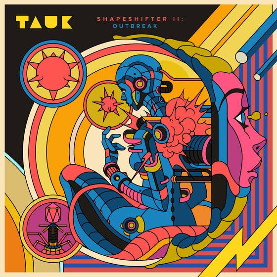 TAUK cover art for Shapeshifter II: Outbreak. Photo provided.