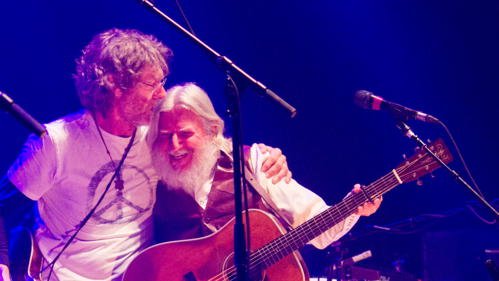 Sam Bush and Billy Nershi on Friday, December 28. Photo: Matthew McGuire