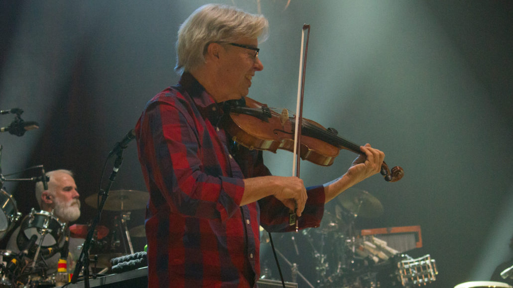 Darol Anger performing with The String Cheese Incident. Photo by: Matthew McGuire