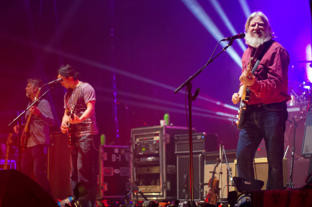 The String Cheese Incident performing on 12/29/18. Photo by: Matthew McGuire