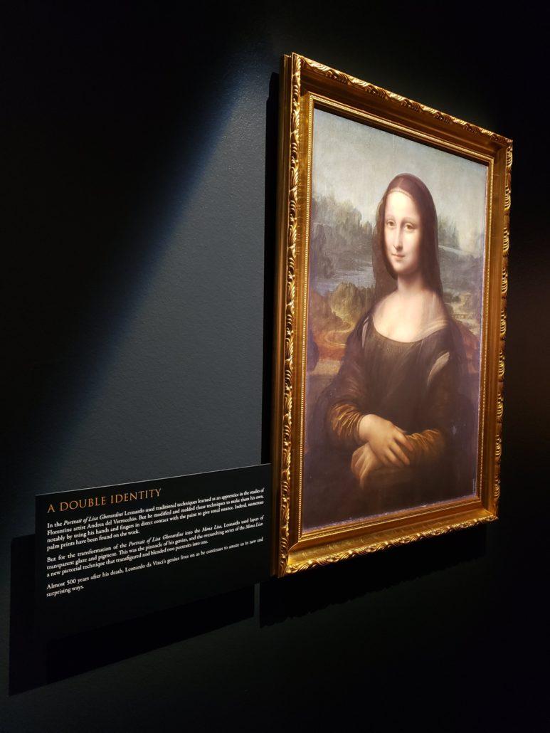 Leonardo da Vinci: 500 Years of Genius. Example of da Vinci's Mona Lisa. Photo by: Matthew McGuire