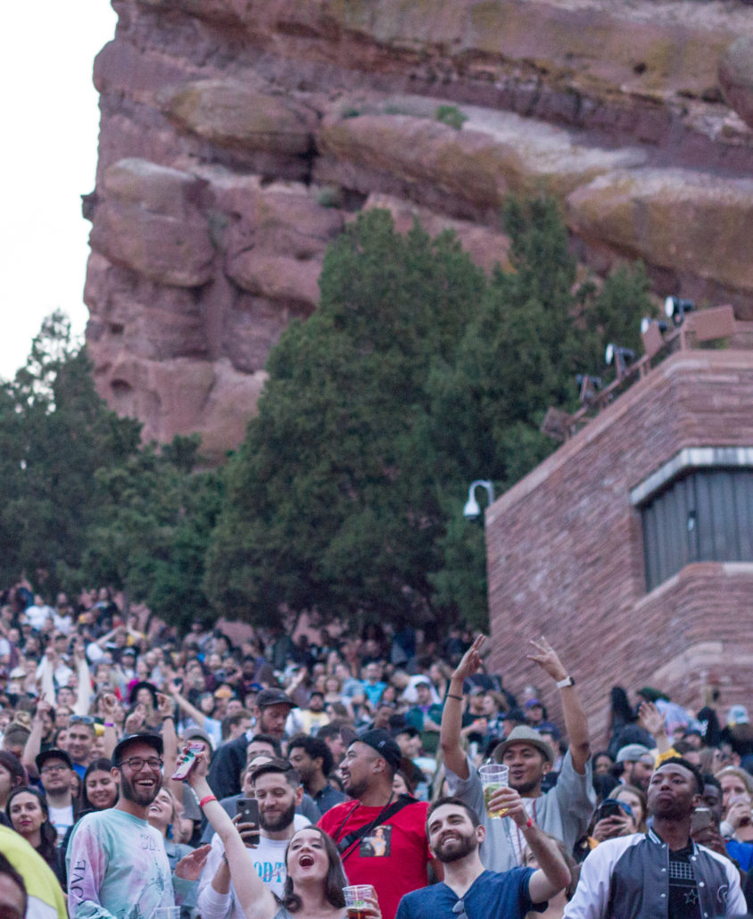 Red Rocks sold out crowd on Friday, June 14 2019. Photo by: Matthew McGuire