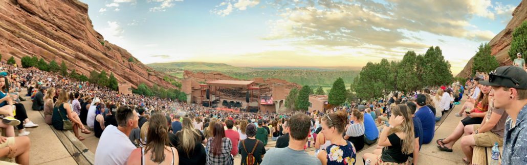 Red Rocks Amphitheatre. Photo by: Corey Ellis