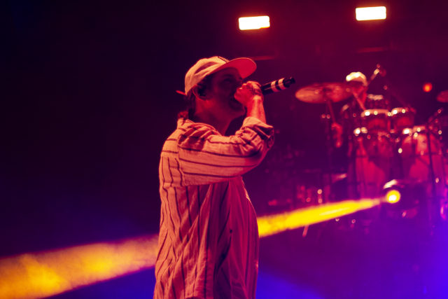 Dirty Heads performing on July 9 at Red Rocks Amphitheatre. Photo by: Matthew McGuire