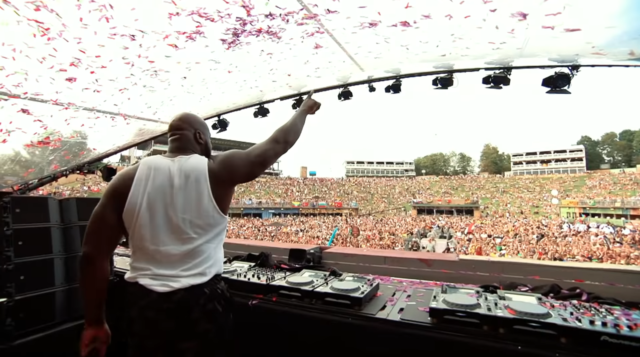DJ Diesel at Tomorrowland 2019. Image by: Tomorrowland / YouTube