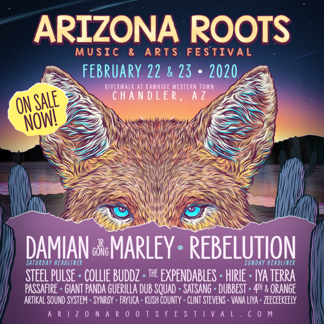 Arizona Roots Music and Arts Festival 2020 lineup. Photo provided.