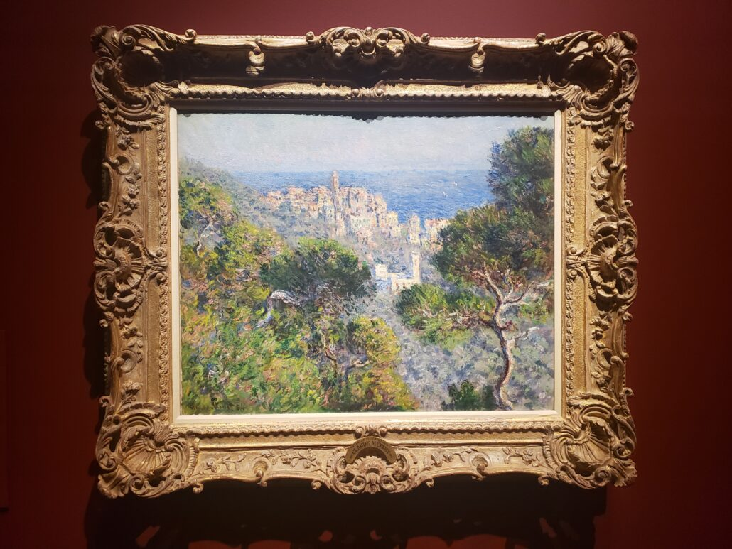 View of Bordighera. Painted by Claude Monet in 1884. Photo by: Matthew McGuire