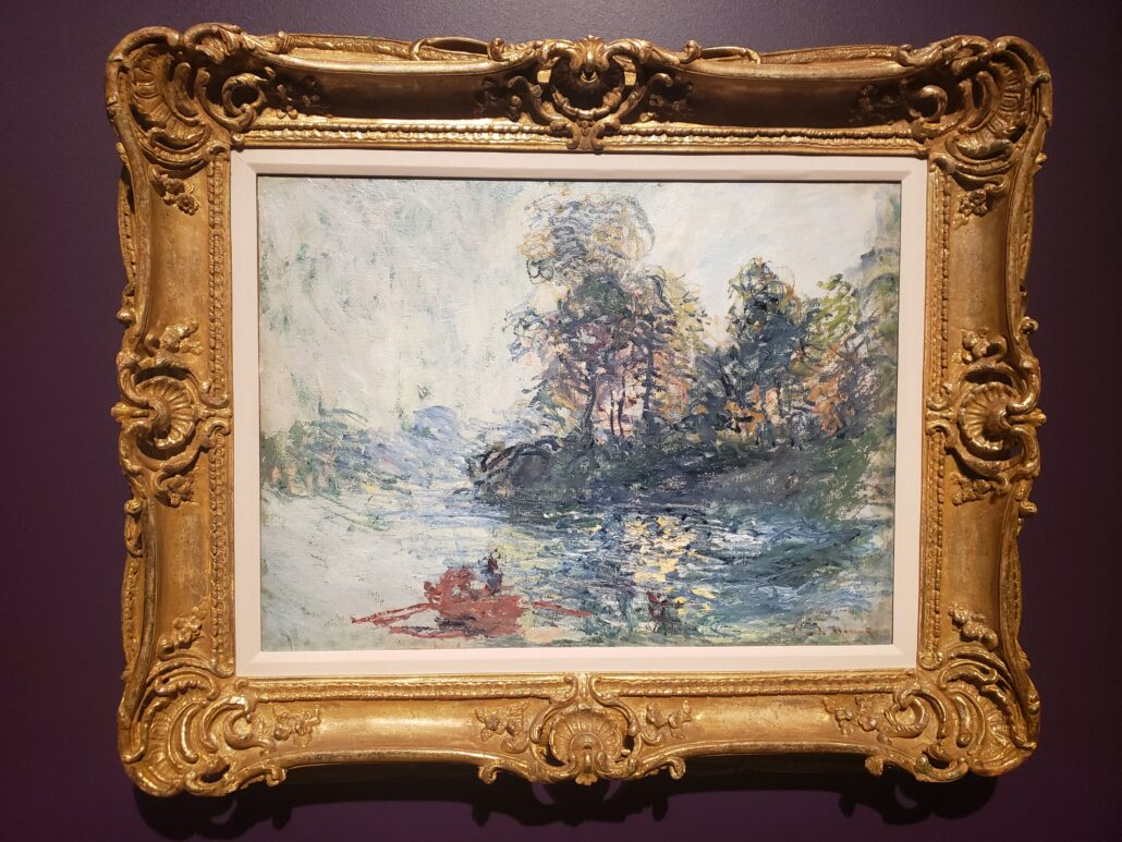 The River. Painted by Claude Monet in 1881. Photo by: Matthew McGuire