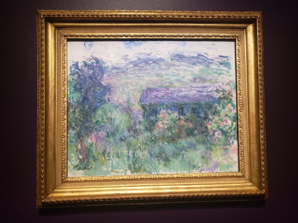 The House Seen through the Rose. Painted by Claude Monet in 1925-26. Photo by: Matthew McGuire