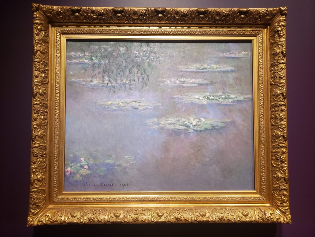 Water-Lilies. Painted by Claude Monet in 1903. Photo by: Matthew McGuire