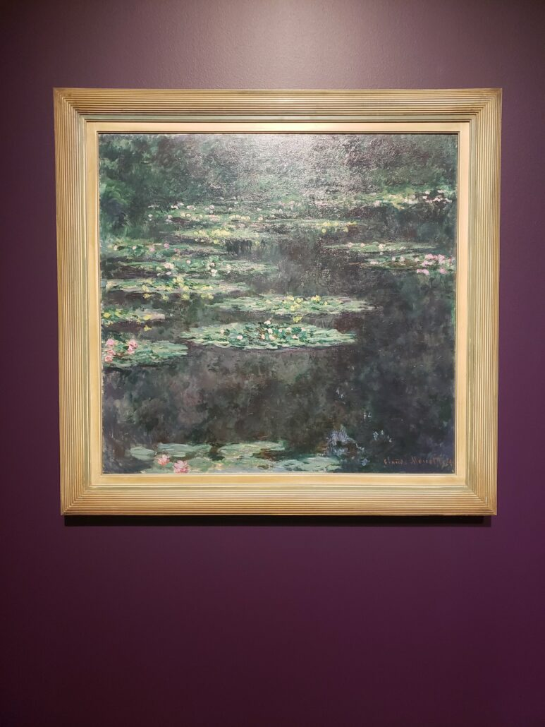 Water-Lilies. Painted by Claude Monet in 1904. Photo by: Matthew McGuire