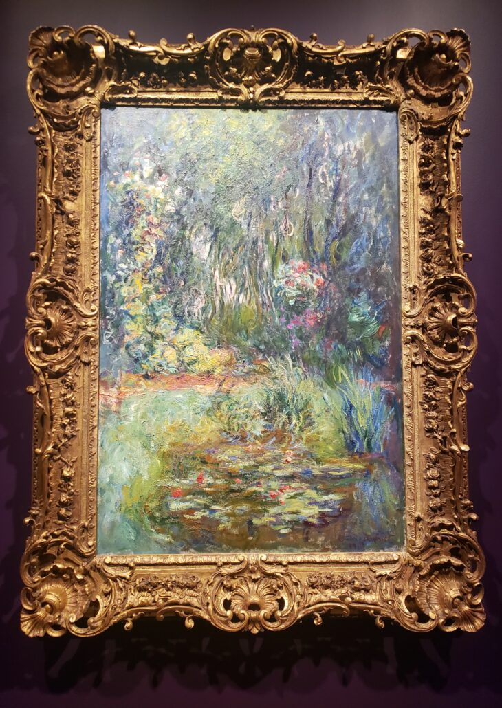 The Water-Lily Pond. Painted by Claude Monet in 1918. Photo by: Matthew McGuire