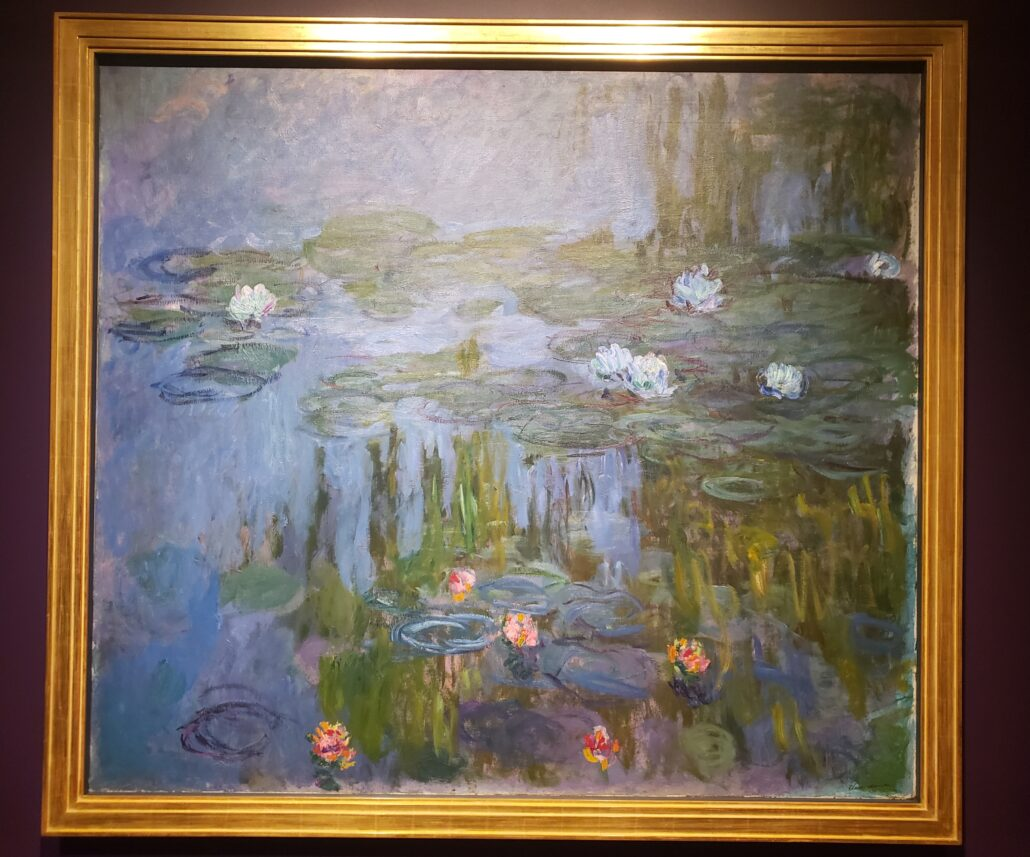 Water-Lilies. Painted by Claude Monet. Photo by: Matthew McGuire
