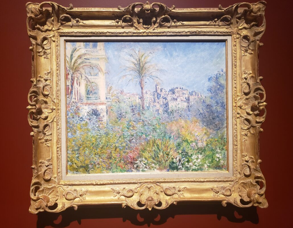 Villas at Bordighera. Painted by Claude Monet in 1884. Photo by: Matthew McGuire