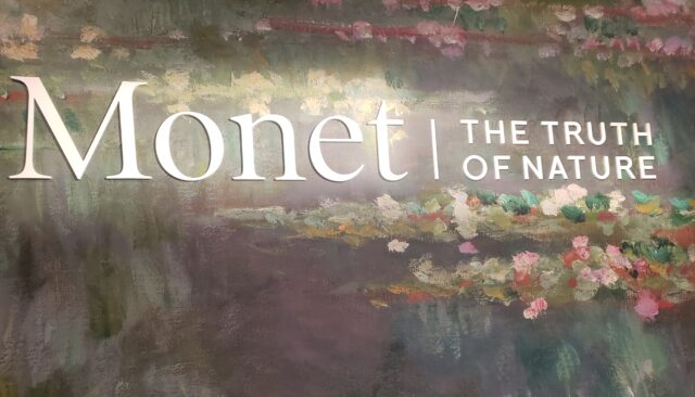 Monet | The Truth of Nature. Fine art exhibit at the Denver Art Museum. Photo by: Matthew McGuire
