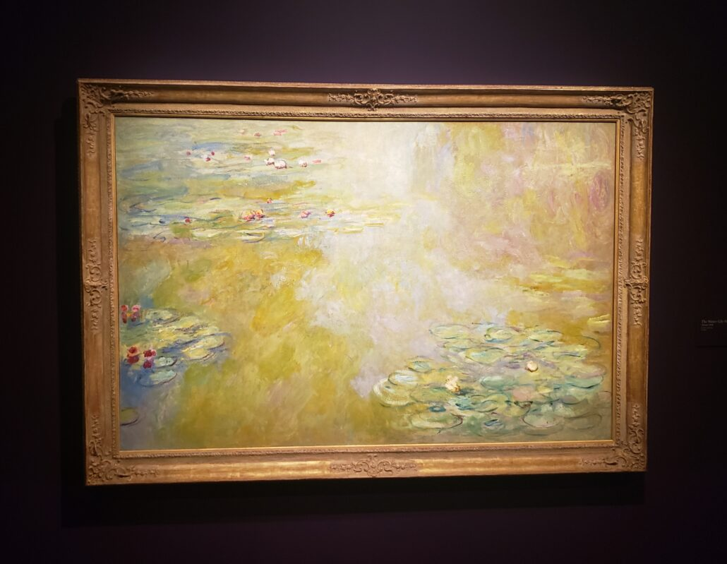 The Water - Lily Pond. Painting by Claude Monet in 1918. Photo by: Matthew McGuire