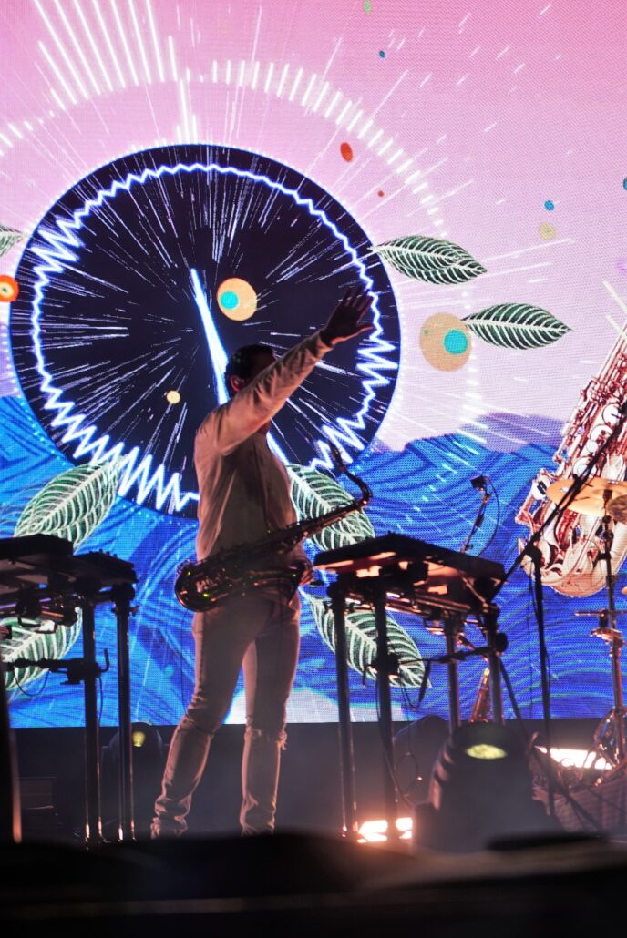 Big Gigantic performing live at Gem and Jam Festival 2020 in Tucson, Arizona. Photo by: Samantha Harvey