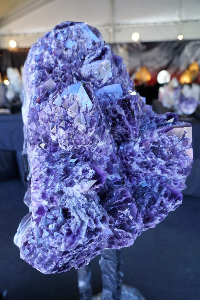Gem Show Amethyst. Photo by: Samantha Harvey