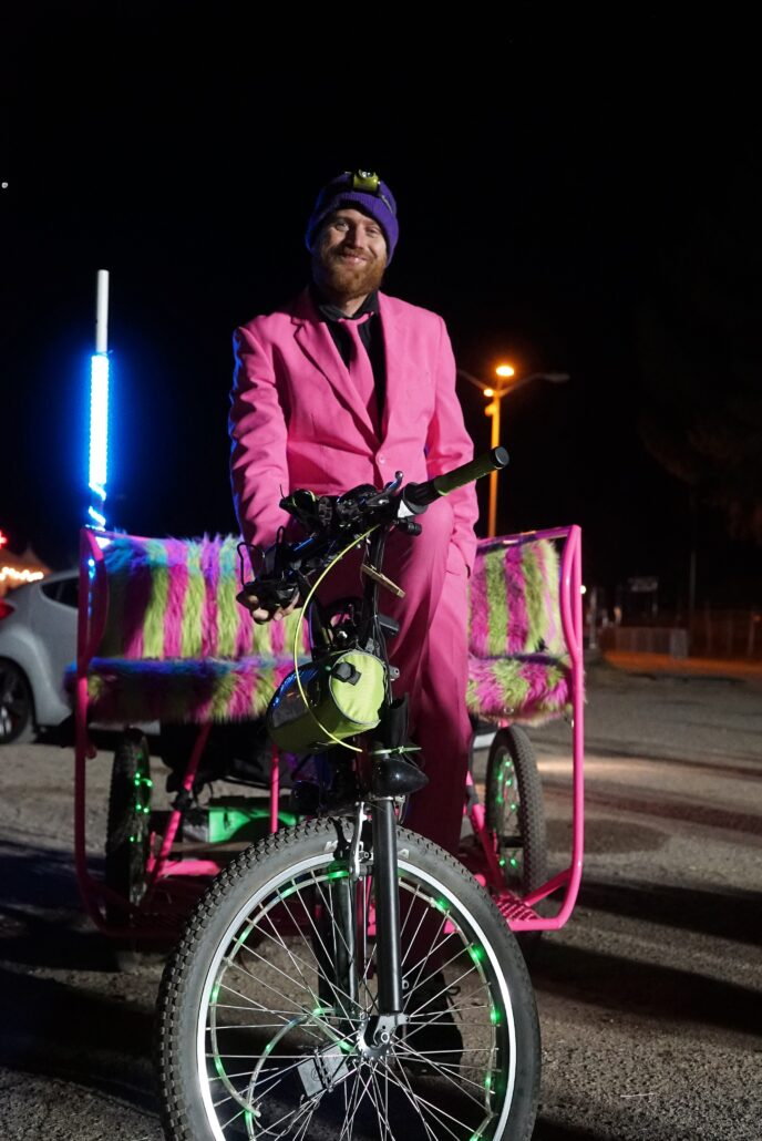 Rickshaw Driver. Photo by: Samantha Harvey