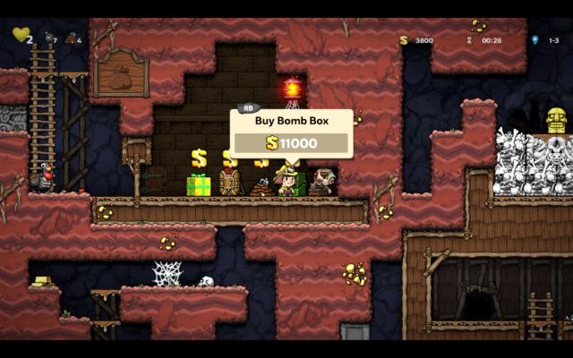 Spelunky 2 gameplay screenshot. Image by: Matthew McGuire