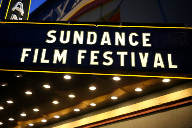 The Sundance Film Festival marquee at the Egyptian Theatre. Photo provided by the Sundance Film Festival