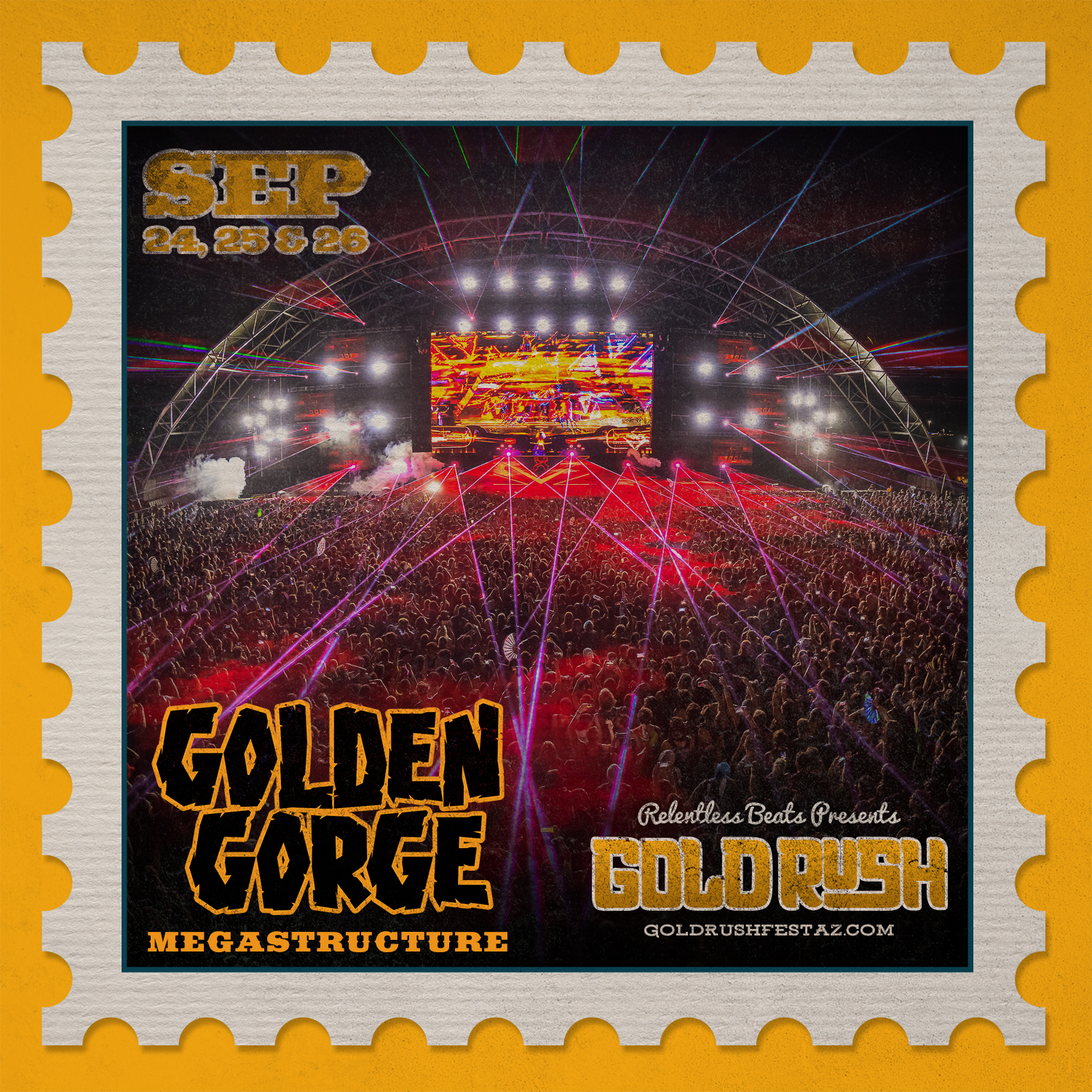 An image representing the Golden Gorge megastructure. Photo provided.