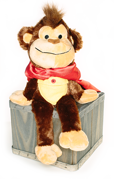 Monk Monk - Comfort Critter - Therapy Monkey