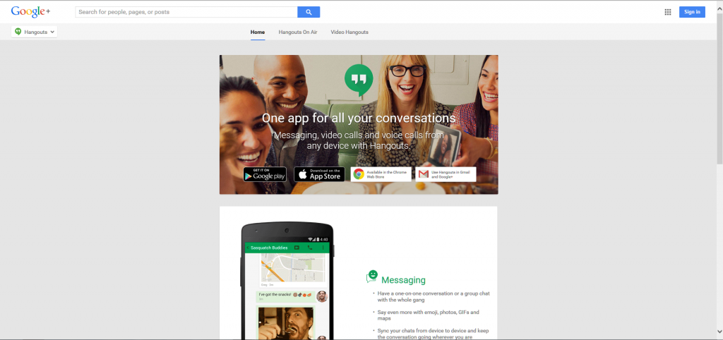 Google's Video Hangouts