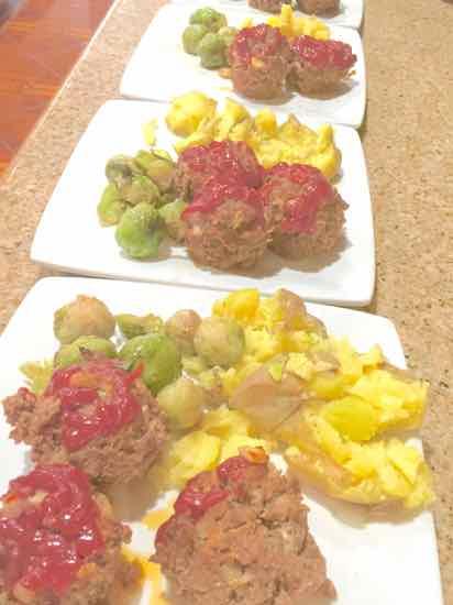 Meatloaf muffins