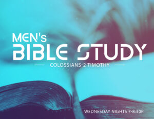 REV - Mens Bible Study @ Grace Revolution Church